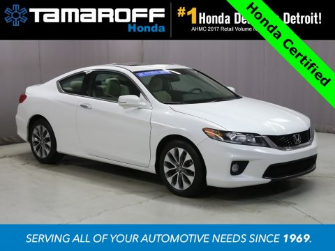 Certified Pre-Owned 2015 Honda Accord EX-L  FWD 2D Coupe