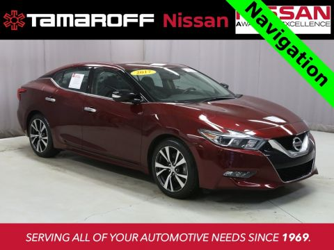 Certified Pre-Owned 2017 Nissan Maxima 3.5 SV W/Navigation FWD 4D Sedan