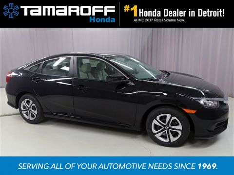 New 2017 Honda Civic LX  FWD 4D Sedan