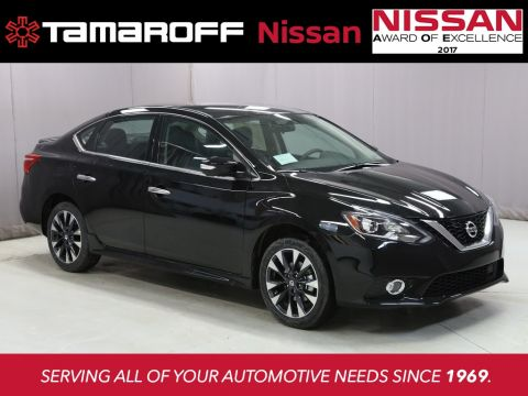 New 2018 Nissan Sentra SR  FWD 4D Sedan