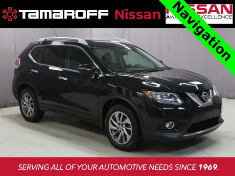 Certified Pre-Owned 2015 Nissan Rogue SL W/Navigation AWD