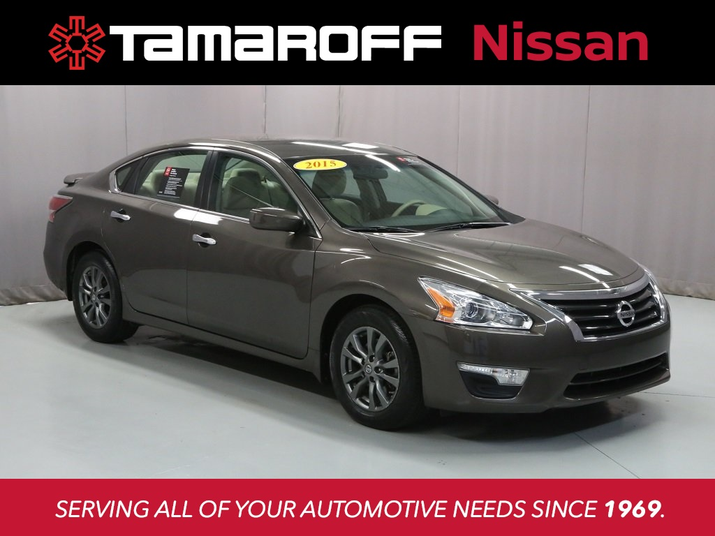 Certified Used 2015 Nissan Altima 25 S 4d Sedan Southfield T3148 Resistorcalculatorfreeledcalculadora2 Xtronic Free Electronic Pre Owned