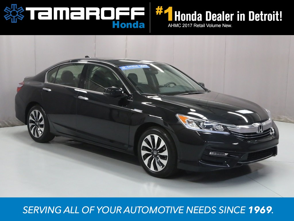 Certified Pre Owned 2017 Honda Accord Hybrid